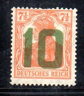 APR513 - POLONIA 1919 , Yvert N. 62  *  Linguella Forte (2380A). Due Denti Corti - ....-1919 Governo Provvisiorio