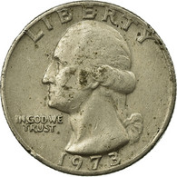Monnaie, États-Unis, Washington Quarter, Quarter, 1973, U.S. Mint - 1932-1998: Washington