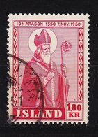 ISLAND ICELAND [1950] MiNr 0271 ( O/used ) Religion - 1944-... Republik