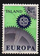 ISLAND ICELAND [1967] MiNr 0410 ( O/used ) CEPT - 1944-... Republik