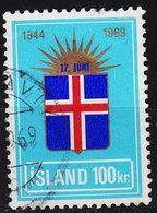 ISLAND ICELAND [1969] MiNr 0431 ( O/used ) - 1944-... Republik