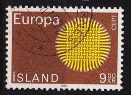 ISLAND ICELAND [1970] MiNr 0442 ( O/used ) CEPT - 1944-... Republik