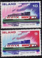 ISLAND ICELAND [1973] MiNr 0478-79 ( **/mnh ) CEPT - Ungebraucht
