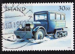 ISLAND ICELAND [1992] MiNr 0771 ( O/used ) Auto - Gebraucht