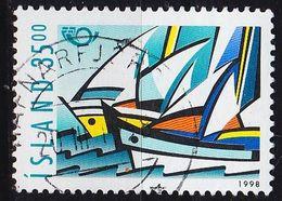 ISLAND ICELAND [1998] MiNr 0884 ( O/used ) Schiffe - Gebraucht