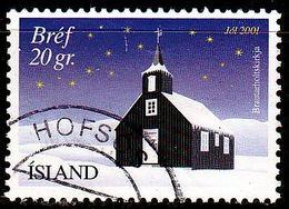 ISLAND ICELAND [2001] MiNr 0998 ( O/used ) Architektur - 1944-... Republique