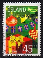 ISLAND ICELAND [2002] MiNr 1024 ( O/used ) - 1944-... Republique