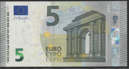 € 5 GERMANY  W002 J6 LAST POSITION  DRAGHI  UNC - EURO