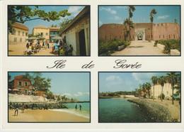 C.P. - PHOTO - SÉNÉGAL - L'ÎLE DE GOREE - 114 - WAKHATILENE - 4 VUES - Sénégal