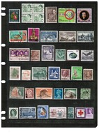 BRITISH COMMONWEALTH---Collection Of USED DL-678 - Collections (without Album)