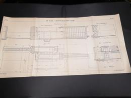 ANNALES DES PONTS Et CHAUSSEES (DEP 29) - Plan Du Port De Brest - 1913 - Imp A.Gentil (CLF03) - Cartes Marines