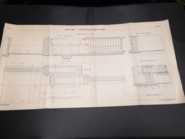 ANNALES DES PONTS Et CHAUSSEES (DEP 29) - Plan Du Port De Brest - 1913 - Imp A.Gentil (CLF03) - Zeekaarten