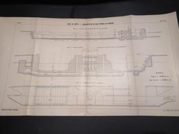 ANNALES DES PONTS Et CHAUSSEES (DEP 29) - Plan Du Port De Brest - 1913 - Imp A.Gentil (CLF04) - Cartes Marines