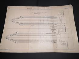 ANNALES DES PONTS Et CHAUSSEES (DEP 29) - Plan Du Port De Brest - 1913 - Imp A.Gentil (CLF05) - Zeekaarten