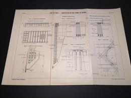 ANNALES DES PONTS Et CHAUSSEES (DEP 29) - Plan Du Port De Brest - 1913 - Imp A.Gentil (CLF06) - Cartes Marines