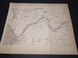 ANNALES DES PONTS Et CHAUSSEES - Plan D'Escaut Maritime - 1900 - Imp .L.Courtier (CLF07) - Cartes Marines