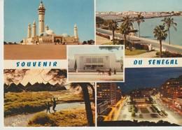 C.P. - PHOTO - SOUVENIR DU SÉNÉGAL - 5 VUES - MOSQUEE DE TOUBA - SAINT LOUIS - THIES - VILLAGE AFRICAIN - DAKAR - 4431 - - Sénégal