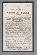 DOODSPRENTJE ROELS JONGMAN GALLIN ° AERTRYCKE AARTRIJKE 1899 + WYNENDAELE WIJNENDALE 1922 - Images Religieuses