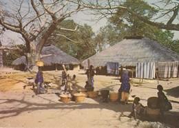 C.P. - PHOTO - IMAGES DU SÉNÉGAL - VILLAGE DE CASAMANCE - G. I. A. - RENAUDEAU - P.C. 18 - Sénégal