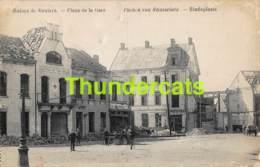 CPA RUINES DE ROULERS PLACE DE LA GARE PUINEN VAN ROUSSELARE STATIEPLAATS ROESELARE VAGUEMESTRE - Guerre 1914-18