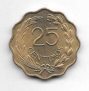Paraguay 25 Centavos 1953  Km 27  Unc - Paraguay