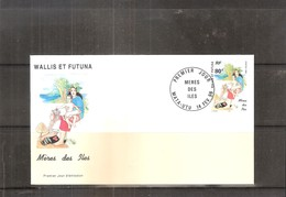 FDC Wallis & Futuna - Mère Des Îles - 1996  (à Voir) - FDC