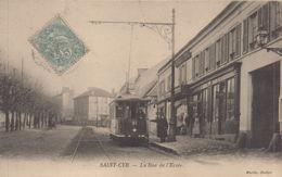 St. Cyr-l'Ecole : La Rue De L'Ecole - St. Cyr L'Ecole