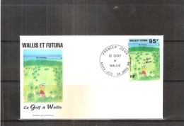FDC Wallis & Futuna - Sport - Le Golf à Wallis - 1996  (à Voir) - FDC