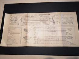 ANNALES DES PONTS Et CHAUSSEES - Plan D'Essais Fait Sur La Construction De Remorqueurs - 1913 - Imp .A.Gentil (CLF09) - Máquinas
