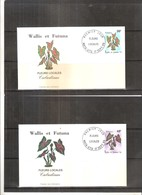 2 FDC Wallis & Futuna - Flore - Fleurs Locales - 1996  (à Voir) - FDC