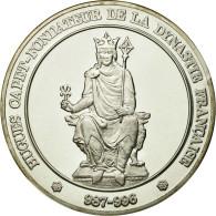 France, Médaille, Hugues Capet, Fondateur De La Dynastie Française, FDC - France