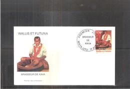 FDC Wallis & Futuna - Brasseur De Kava - 1997  (à Voir) - FDC