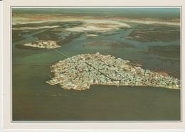 C.P. - PHOTO - SÉNÉGAL - FADIOUTH - VUE AÉRIENNE - XXXV-B14 - 1989 - Sénégal
