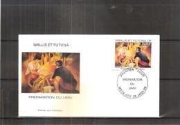 FDC Wallis & Futuna - Préparation Du Umu - 1998  (à Voir) - FDC