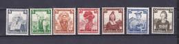 Deutsches Reich - 1935 - Michel Nr. 589/90+592/96 - Ungebr. - Allemagne