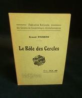 ( économie Socialisme Coopération Coopératives ) LE RÔLE DES CERCLES Ernest POISSON 1926 - Economie