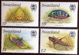 Swaziland 1988 Insects MNH - Insectes