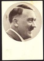 Deutsches Reich Propaganda Karte DER FÜHRER ADOLF HITLER Männer Der Zeit Gelaufen Rom 4.5.1938 - Briefe U. Dokumente