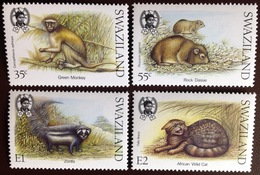 Swaziland 1989 Small Mammals Animals MNH - Timbres