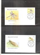 2 FDC Wallis & Futuna - Insectes - Libellule & Cigale - 1998  (à Voir) - Sonstige