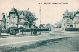 CPA   14   CABOURG---AVENUE DE VERSAILLES - Cabourg