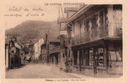 CPA   15  THIEZAC---LA CROISSETTE---RUE DU CENTRE - France