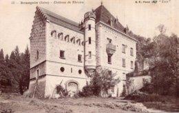CPA   38   BOURGOIN--CHATEAU DE THEZIEU - Bourgoin