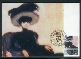 Belgique - Carte Maximum 2006 - Oeuvre De Leon Spilliaert - Cartes-maximum (CM)