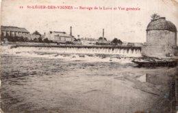 CPA  58   SAINT-LEGER-LES-VIGNES---BARRAGE DE LA LOIRE ET VUE GENERALE - France