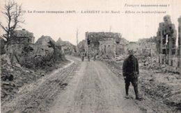 CPA   60   LASSIGNY---EFFETS DE BOMBARDEMENT ( COTE NORD ) - Lassigny
