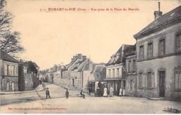 61 - NOHANT Le PIN : Vue Prise De La Place Du Marché - CPA Village ( 600 Habitants ) - Orne - France