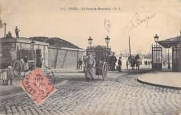 75 - PARIS 20 ° - La Porte De Montreuil ( Animation ) - CPA - Seine - Arrondissement: 20