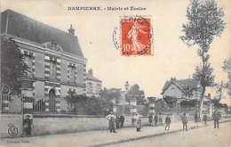 45 - DAMPIERRE : Mairie Et Ecoles ( Animation ) - CPA - Loiret - France