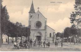 93 - BONDY : L'Eglise ( Bonne Animation ) - CPA - Seine St Denis - Bondy